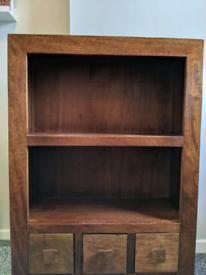 Sideboard Bookcase Nest Tables Set Solid wood Mango