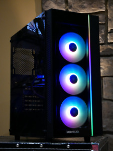 GTX 1070 TEMPERED GLASS RGB GAMING PC