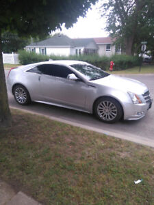 2011 Cadillac CTS AWD Coupe - Silver, 56k KMS, New Eagle 1 Tires