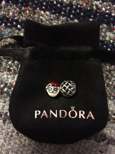 Pandora Charms - Jolly Santa and Forever Entwined