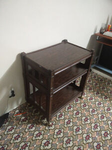 Very nice kitchen cart for sale.