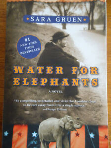 Water for Elephants by Sara Gruen -  EUC Soft Cover