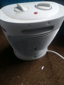 For sale a small electric fan heater