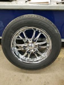 20 inch chrome boss wheels - 275/55R20