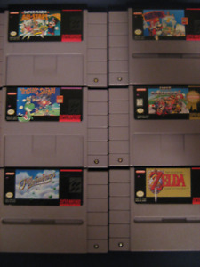 Games for snes