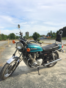 1977 Suzuki GS 750 in Excellent Condition