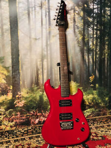 Vintage WESTONE Spectrum DX rouge / redGuitare made in Japan