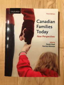 Canadian Families Today, New Perspectives, Textbook