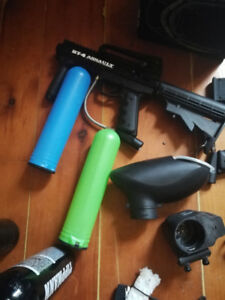 Trade my paintball equipment for ps4