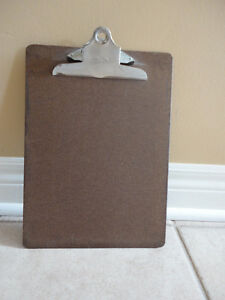 Heavy duty wooden clipboard writing pad London Ontario image 1