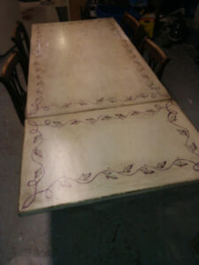 Ikea Dining Table with Drop-down Leaf $ 30.00 FIRM