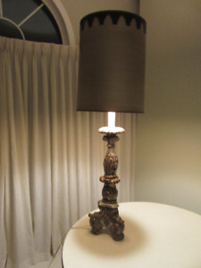 Vintage French Altar Table Lamp Only $50