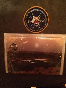 Beagle 2 Mars Notecards and Mission Patch