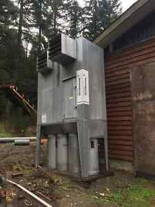 4000 cfm DUST COLLECTION SYSTEM