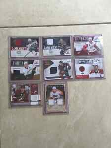 8 jersey cards great condition