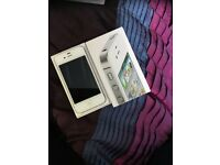 Iphone 4s 16gb white unlocked boxed