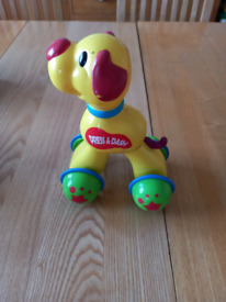 Baby toy Press and dash dog