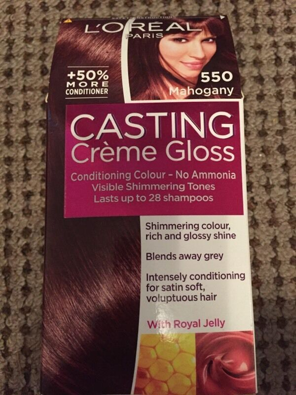 L'oreal casting creme gloss 550 mahogany hair dye | in Nuneaton ...