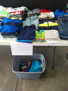 Lot of size 6 boys clothes