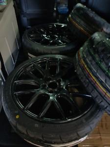 Dai Autobahn 18x8 +35 ( new tiress ) indy 500