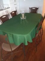 Tablecloth In green