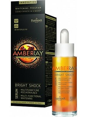 AMBERRAY BRIGHT SHOCK AUFHELLUNG SERUM Anti Pigmentflecken,Altersflecken 30 ml