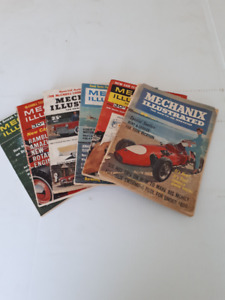 Vintage Magazines  Mechanics ILLUSTRATED
