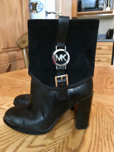 Michael Kors Leather Boots; Worn couple of times size 6