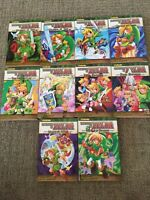 Zelda comic/manga books.