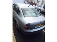 Vw passat 2002 for sale leather interior manual Petrol 5 door Saloon,taxed and mot