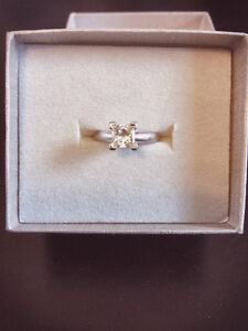 1.00CT Engagement Ring and Wedding Band