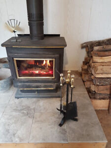 Woodstove and Chimney Pipe