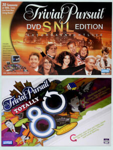 Trivial Pursuit - Saturday Night Live Edition & Totally 80's Ed.