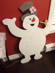 Christmas plywood cutouts, indoor and outdoor. Nanny Poppy Signs St. John's Newfoundland image 4
