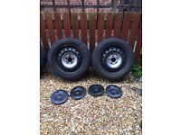 Trafic, vivaro steel wheels