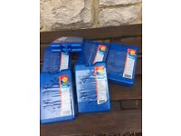 6 X double packs of ultra flat freezer coolers blocks NEW
