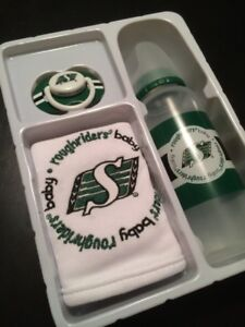 Roughrider's Baby Set: soother/ bin/bottle