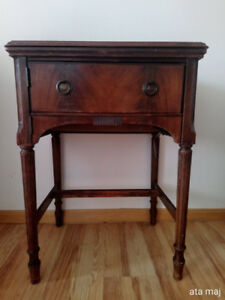 Westinghouse Antique Sewing Machine with Cabinet