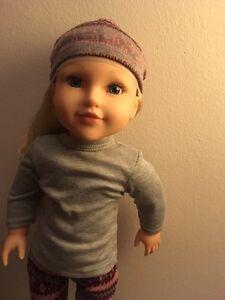 """Brand New Still in box: beautiful 18"""" doll"""