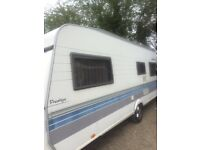 Hobby caravan 2003 Fixed Bed single Axle