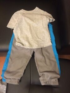 2T boys tee and pant