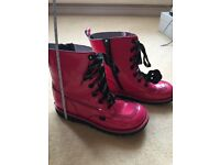 Pink Kicker boots adult size 3(36)