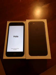 Iphone 7 32 GB noir