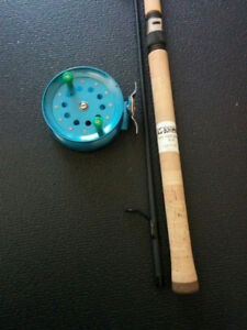 "G LOOMIS DRIFT ROD, 8'6"" SPINNING ROD, CENTERPIN REEL, FLOAT ROD"