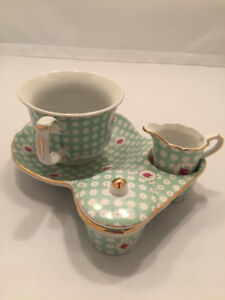 New! Ace gift collection miniature china tea sets, in cute boxes