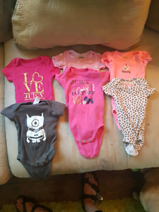 Newborn - 3m girls lot