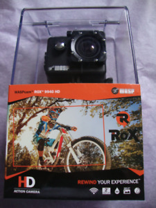 NEW WASPcam - ROX 9940 HD Action Cameras - 1080P 60FPS! - Black