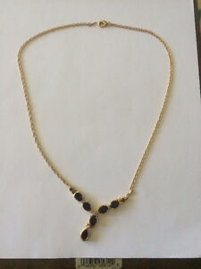 Stunning Women's 18k Yellow Gold Over Sterling Silver