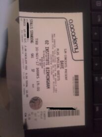 Dave Concert Ticket- 02 Institute Birmingham- 30th November 2017