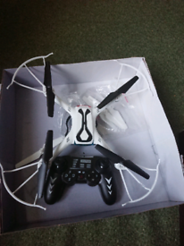 Drone in great condition. Hardly used